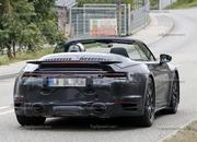We Just Caught the 992-Gen, 2019 Porsche 911 Turbo Cabrio with Its Top Down! - image 795735