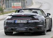 We Just Caught the 992-Gen, 2019 Porsche 911 Turbo Cabrio with Its Top Down! - image 795724