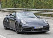 We Just Caught the 992-Gen, 2019 Porsche 911 Turbo Cabrio with Its Top Down! - image 795726