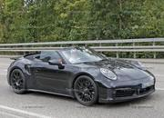 We Just Caught the 992-Gen, 2019 Porsche 911 Turbo Cabrio with Its Top Down! - image 795728