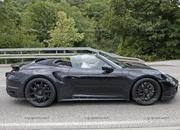 We Just Caught the 992-Gen, 2019 Porsche 911 Turbo Cabrio with Its Top Down! - image 795729