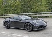 We Just Caught the 992-Gen, 2019 Porsche 911 Turbo Cabrio with Its Top Down! - image 795730