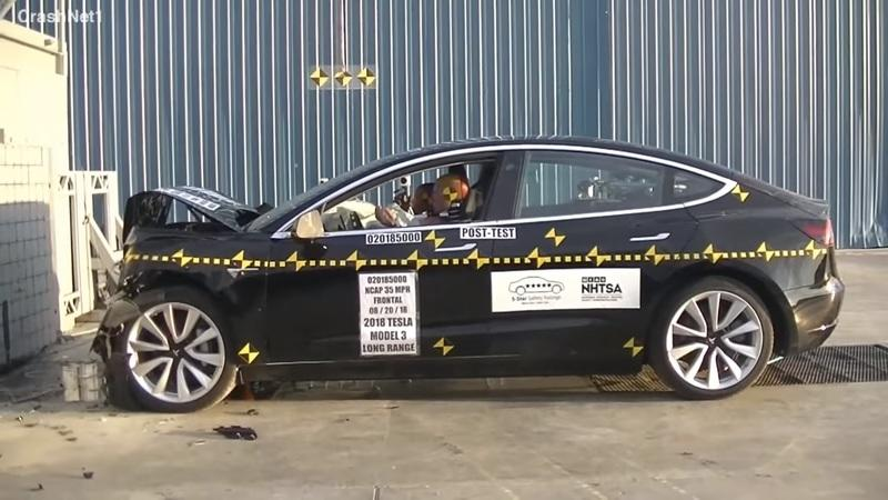 NHTSA Gives the 2019 Tesla Model 3 a Five-Star Safety Rating