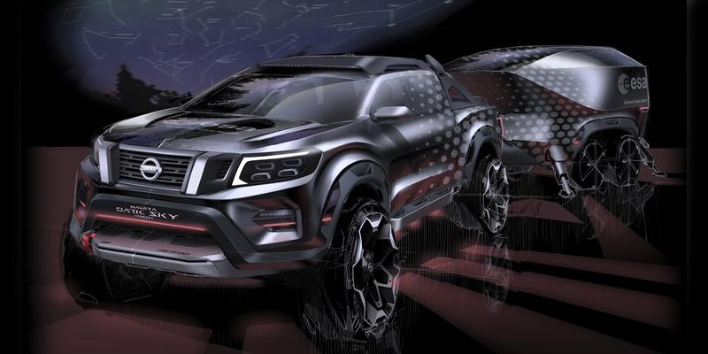 Nissan Navara Dark Sky Pick Up Concept - For Astronomers on the Go Exterior - image 795955