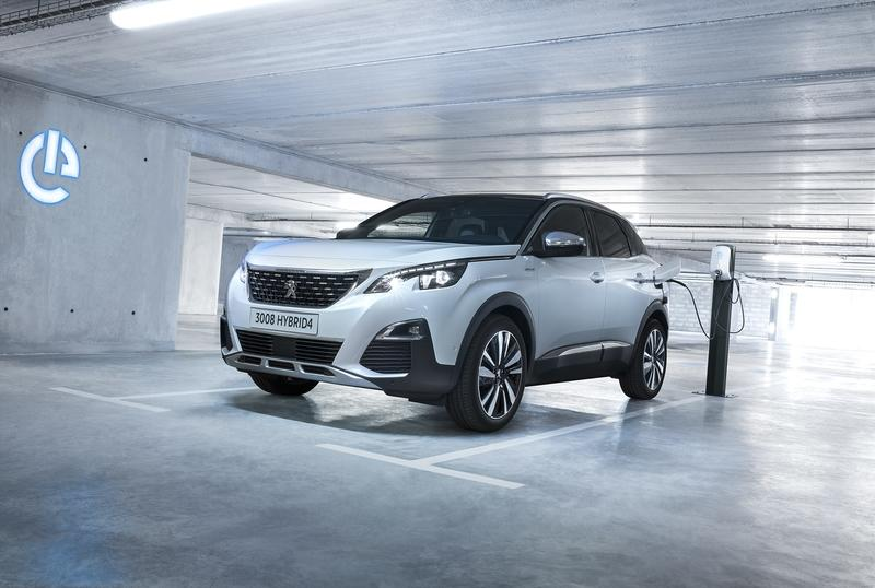 Peugeot Launches a New Plug-In Hybrid Engine Range for the 3008 and 508