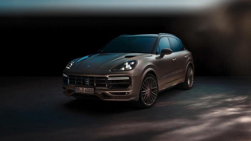 2018 Porsche Cayenne Turbo by TechArt