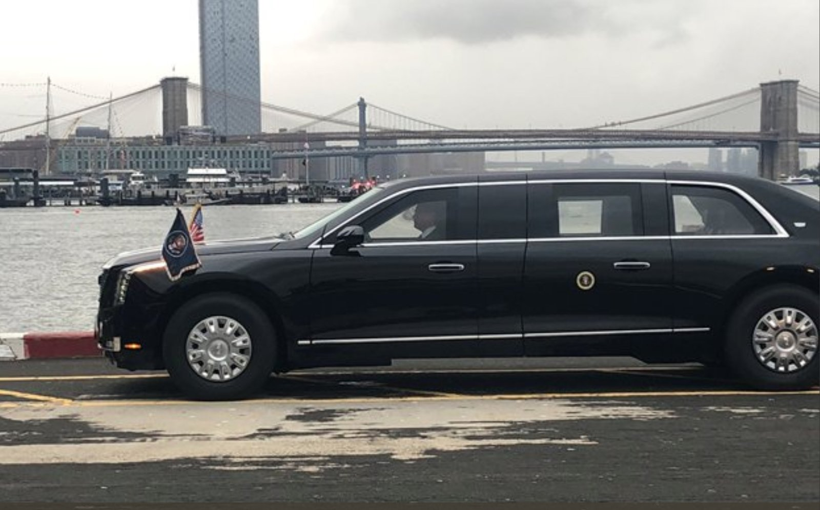 President Donald Trump S New Presidential Cadillac Limo