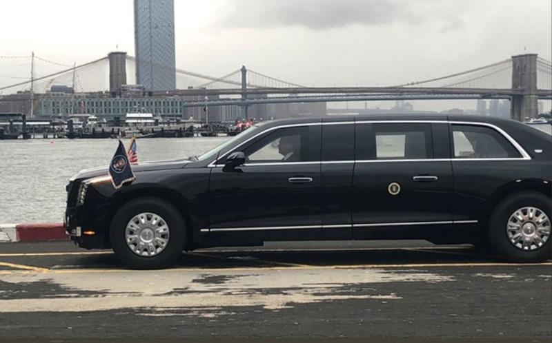 "President Donald Trump's New Presidential Cadillac Limo ""Beast"" is Finally in Service"