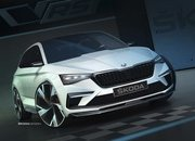 Skoda Teases the 2018 Vision RS Concept Along With a Few Specifications - image 797152
