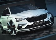 Skoda Teases the 2018 Vision RS Concept Along With a Few Specifications - image 797156