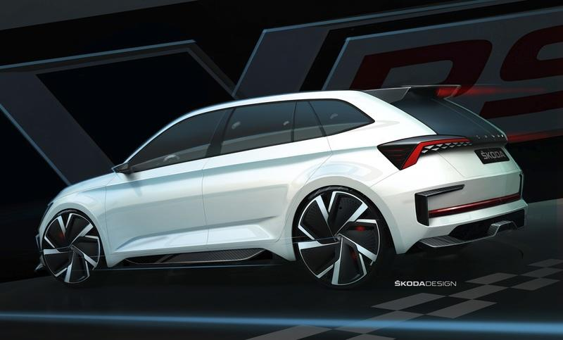 Skoda Teases the 2018 Vision RS Concept Along With a Few Specifications - image 797151
