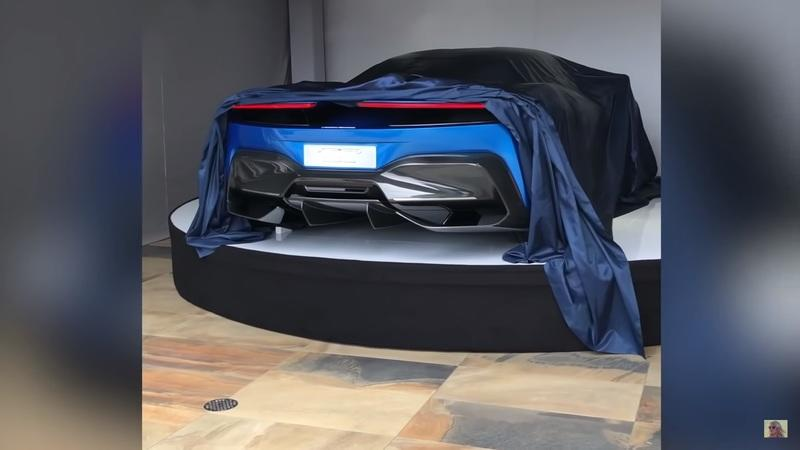 Take a Look at the Pininfarina PF0's Rear End, Courtesy of Supercar Blondie