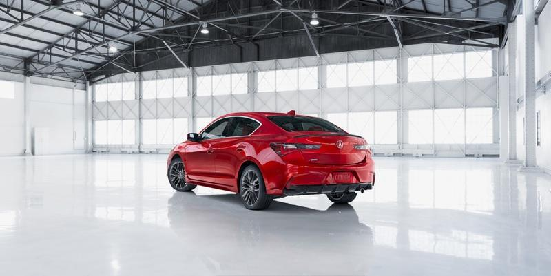 the 2019 acura ilx has been modernized; now includes fresh styling