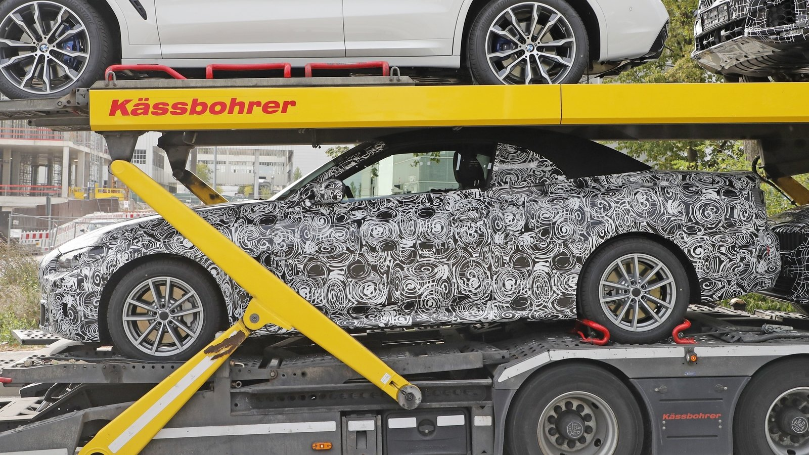 the 2020 bmw 4 series convertible could have a folding softtop