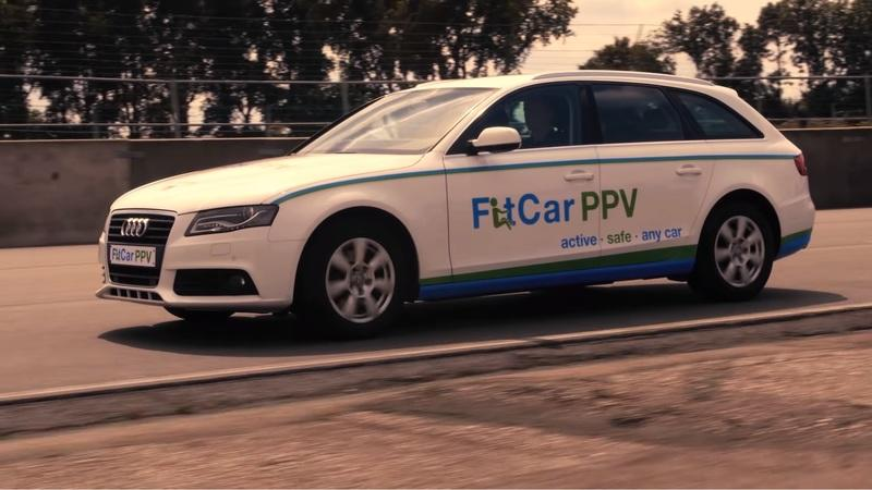 The Audi-based FitCar PPV is a Car That Helps You Get Fit Every Time You Drive It!