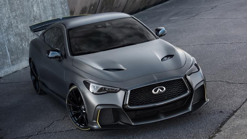 The Infiniti Project Black S Will Showcase Infiniti's High-Performance Electrified Drivetrain