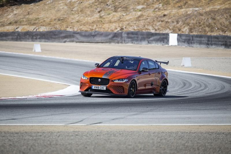 The Jaguar XE SV Project 8 Steals Speed Record at Laguna Seca, But We're Not Impressed