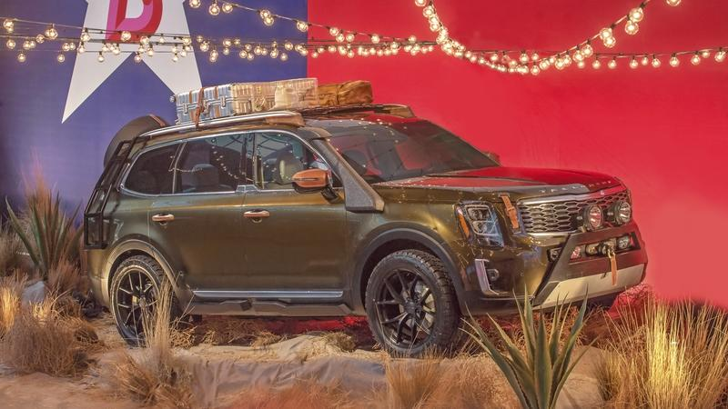 The Kia Telluride Debuts Looking More Like a Concept Than a Production Model