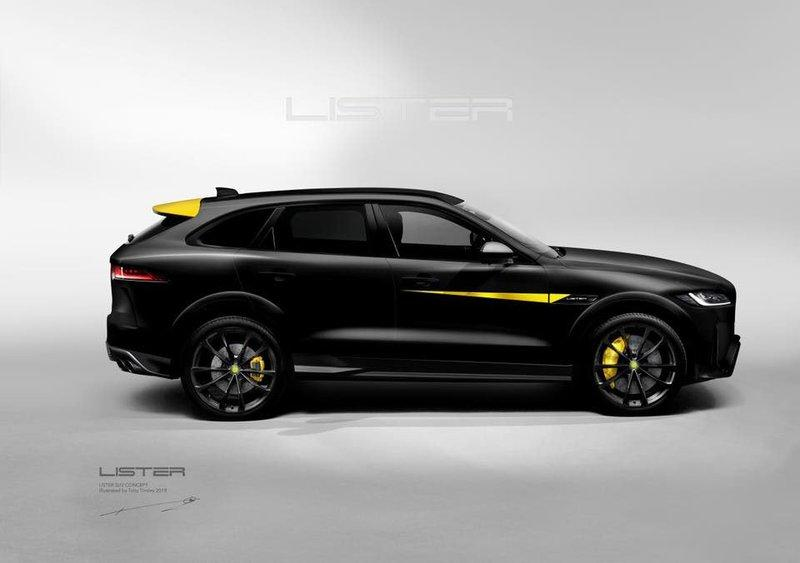 The Lister LFP is a 200-MPH F-Pace Itching to be the Fastest SUV in the World