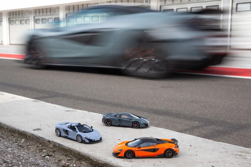 There's Now an Official Scale Model of the McLaren 600LT to Complement your Car Collection