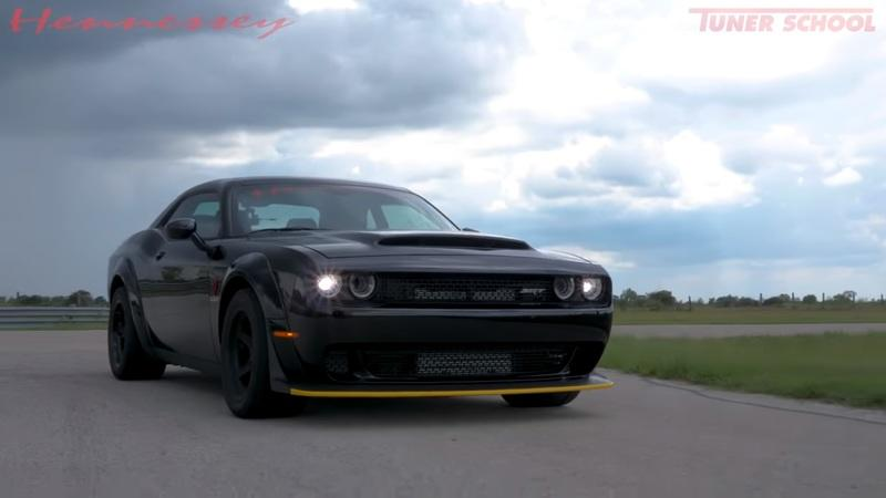 This 1,200-Horsepower Dodge Demon is No Joke: Video