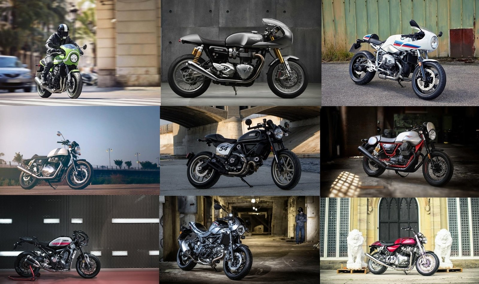 Top 10 Cafe Racers Of 2018 Top Speed