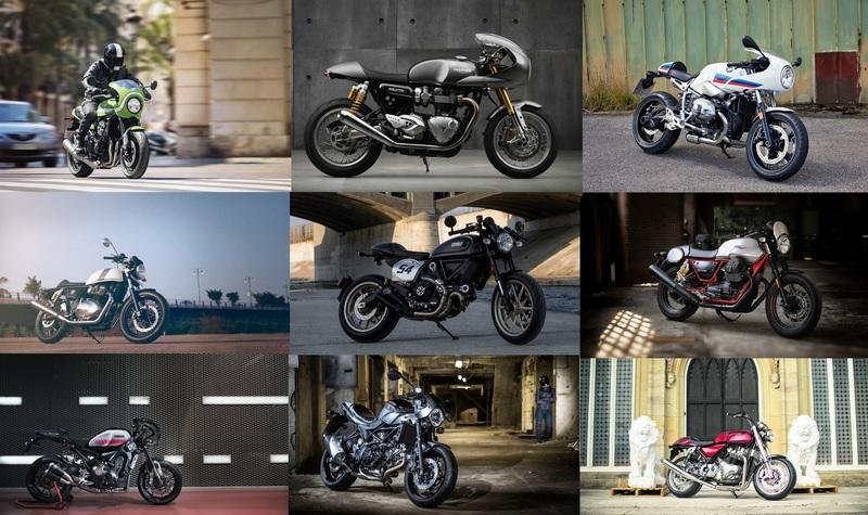 Top 10 Cafe-Racers of 2018