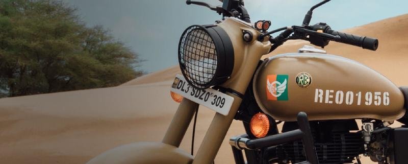 "Royal Enfield salutes the armed forces with this special ""Signals"" edition of the Classic 350 Exterior - image 796556"