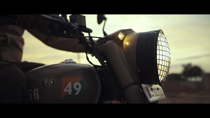 "Royal Enfield salutes the armed forces with this special ""Signals"" edition of the Classic 350"