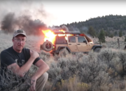 Watch a Jeep Wrangler Get Burnt to a Crisp in the Desert - image 797123