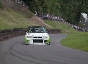 Watch a Race-Prepped Subaru Legacy Attack a Hill Climb: Video - image 795373