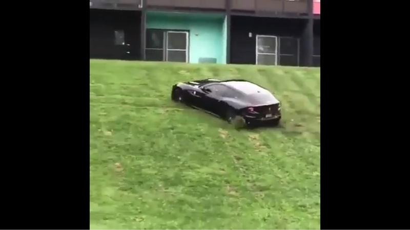 Watch Someone Offroad a 2016 Ferrari FF as it Screams for Mercy