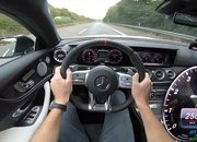 Watch the Mercedes-AMG E53 Mild Hybrid Make a Gut-Churning Top-Speed Run - image 795204