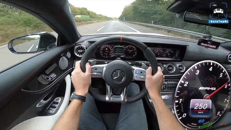 Watch the Mercedes-AMG E53 Mild Hybrid Make a Gut-Churning Top-Speed Run