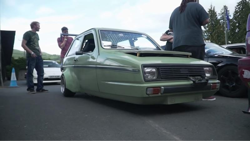 Watch This Absurd CBR-Swapped Reliant Robin Attack a Hillclimb: Video