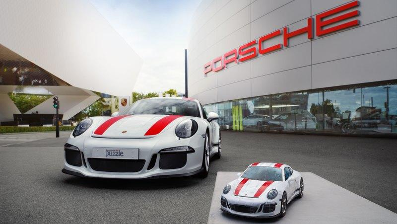 You Can Now Own Your Very Own Porsche 911R in 3D Puzzle Form