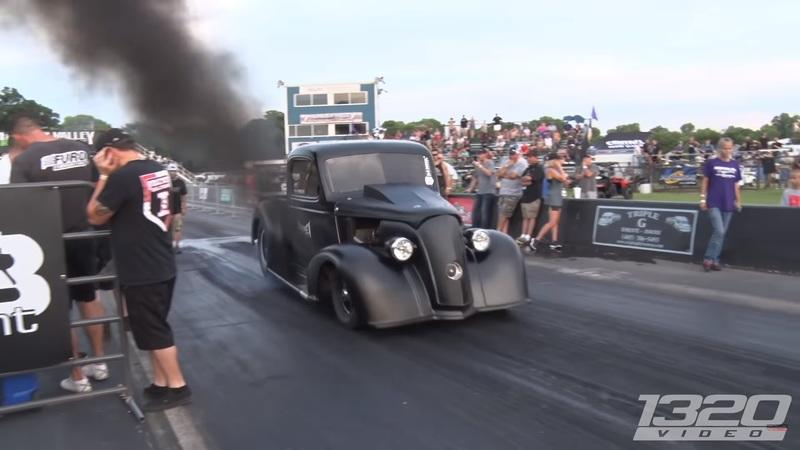 1320 Video Features Brutal Diesel Truck Dragster: Video