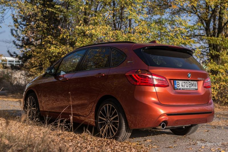 2018 bmw 225xe iperformance plug-in hybrid - driven   top speed