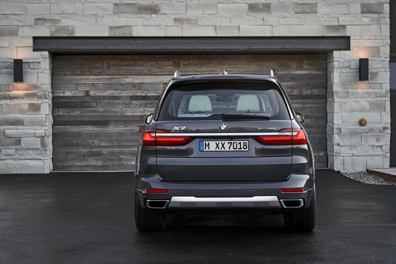 2019 BMW X7 Unveiled