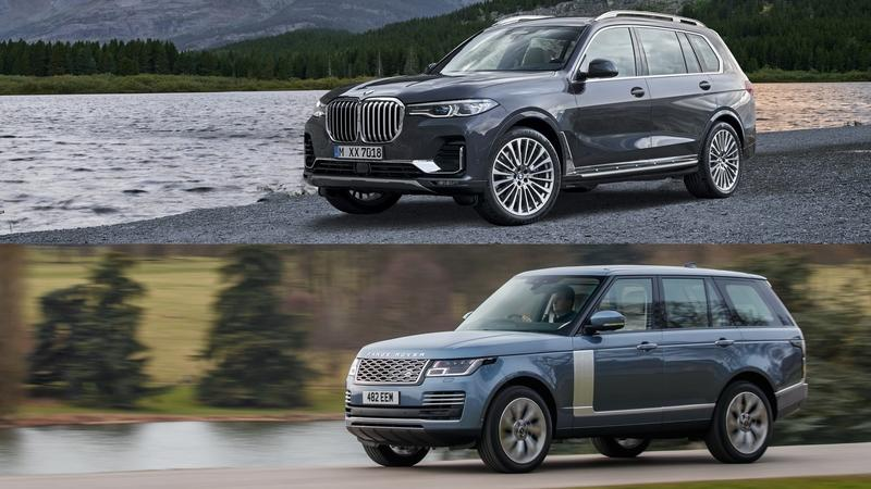 2019 BMW X7 vs 2019 Land Rover Range Rover