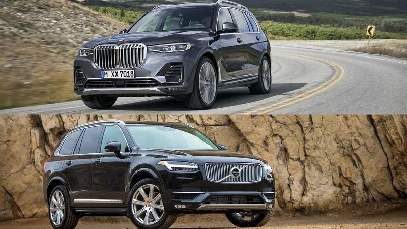 2019 BMW X7 vs 2019 Volvo XC90