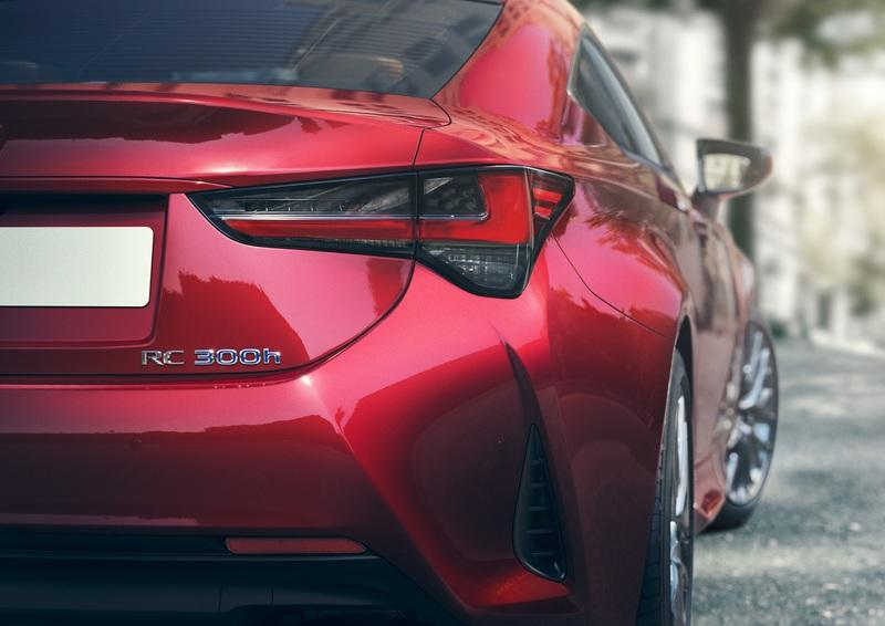 2019 Lexus RC Debuts in Paris with Hot, LC-inspired Looks