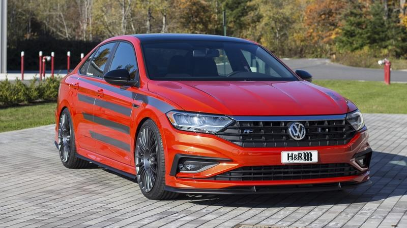2019 Volkswagen Jetta R-Line by H&R Special Springs