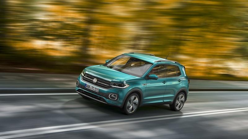 Volkswagen Hopes the T-Cross Will Inject an Urbanized Dose of Cool Into Its SUV Lineup Exterior - image 801855