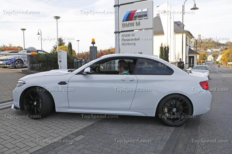 The 2021 BMW M2 CS\CSL Was Spotted on the Nurburging; May Enter Limited Production in March 2020