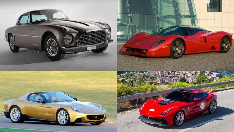 5 Incredible Ferrari Special Edition Cars
