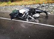 An Audi R8 Was Literally Ripped in Half After Colliding with a Volkswagen Van - image 802234