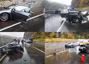 An Audi R8 Was Literally Ripped in Half After Colliding with a Volkswagen Van - image 802237