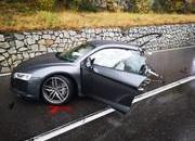 An Audi R8 Was Literally Ripped in Half After Colliding with a Volkswagen Van - image 802230