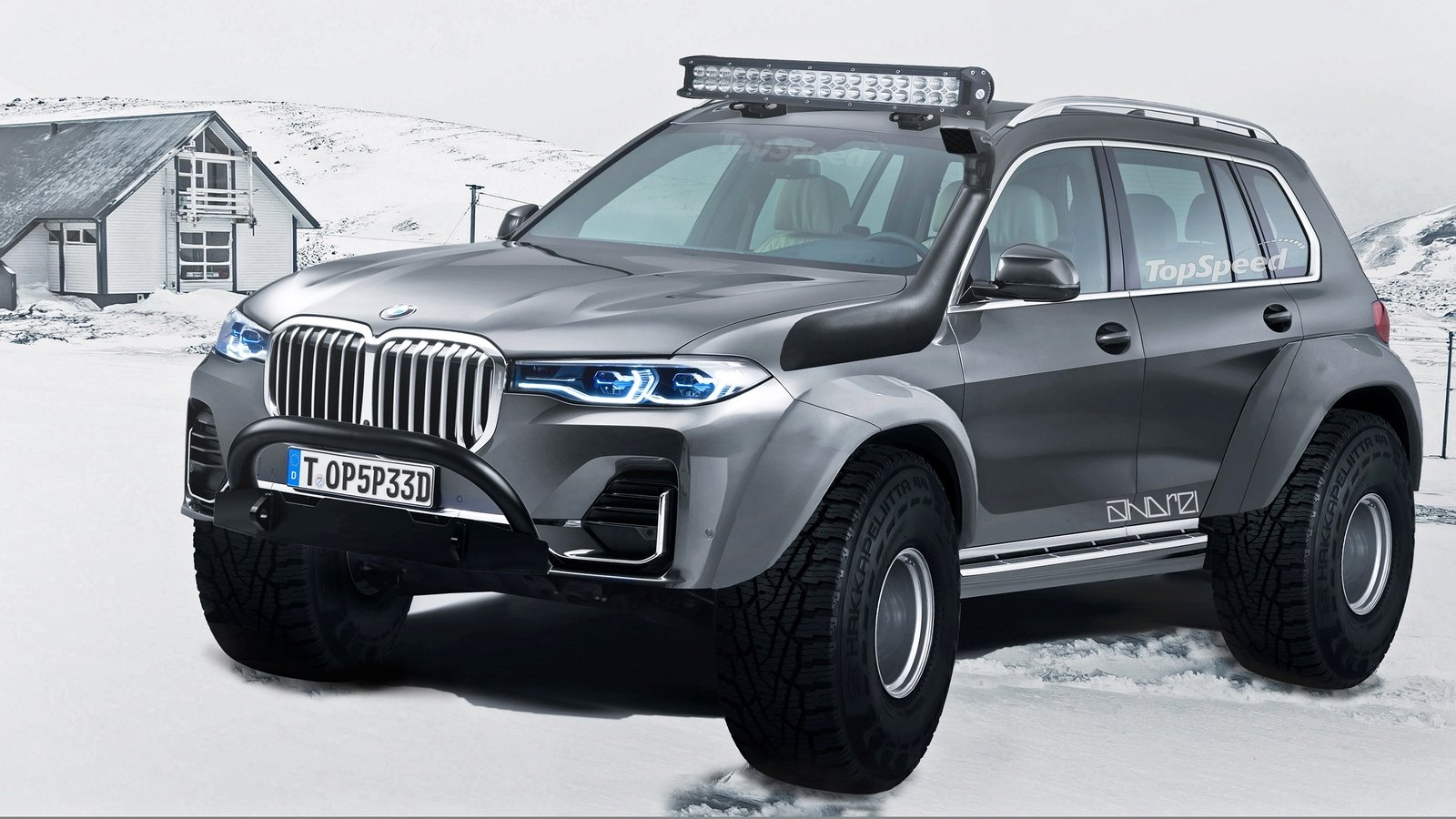 The Arctic Trucks Bmw X7 Isn T Real But We Want One Top